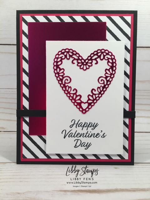 libbystamps, Stampin' Up!, Meant to Be, Be Mine Stitched Framelits, Meant to Be Bundle, Valentine's Day, CCMC