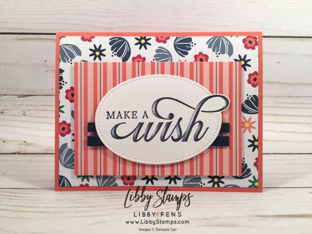 libbystamps, Stampin' Up!, Life is Grand, Layering Ovals Framelits, Happiness Blooms DSP, CCMC