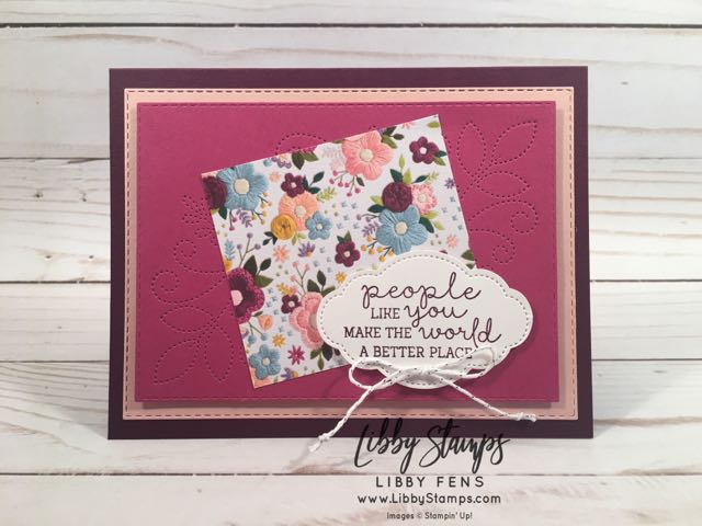 libbystamps, Stampin' Up!, Needle & Thread, Rectangle Stitched Framelits, Needlepoint Elements Framelits, Needle & Thread Bundle, Needlepoint Nook Suite, Needlepoint Nook DSP, Pretty Label  Punch, CCMC