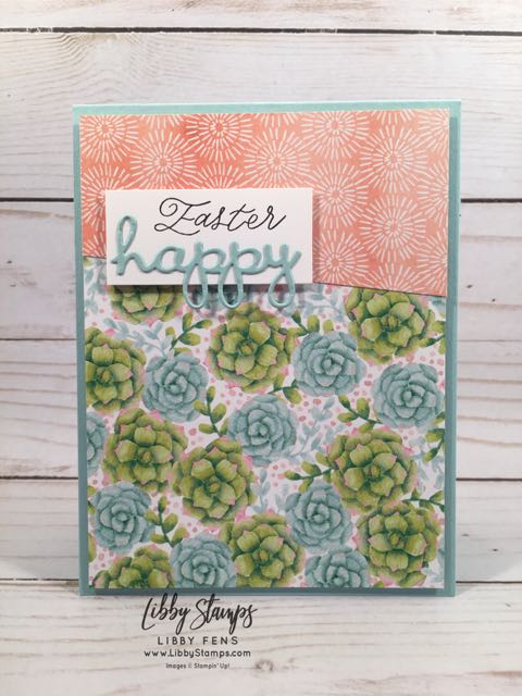 libbystamps, Stampin' Up!, More than Words, Well Written Framelits, Easter, TSOT