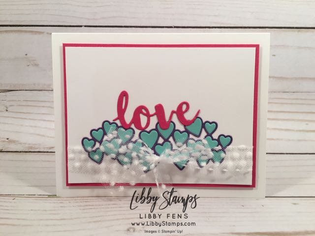 libbystamps, Stampin' Up!, Be Mine Stitched Framelits, Sunshine Wishes Thinlits, CCMC