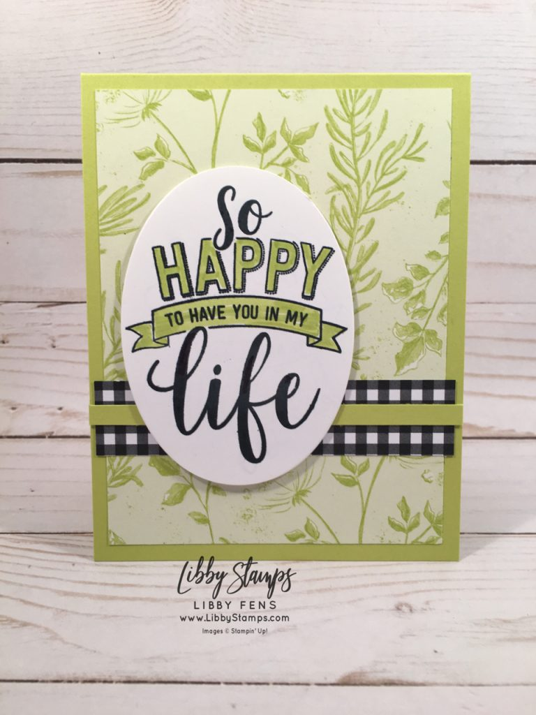 libbystamps, Stampin' Up!, Amazing Life, Layering Ovals Framelits, Botanical Butterfly DSP, Stamparatus, CCMC