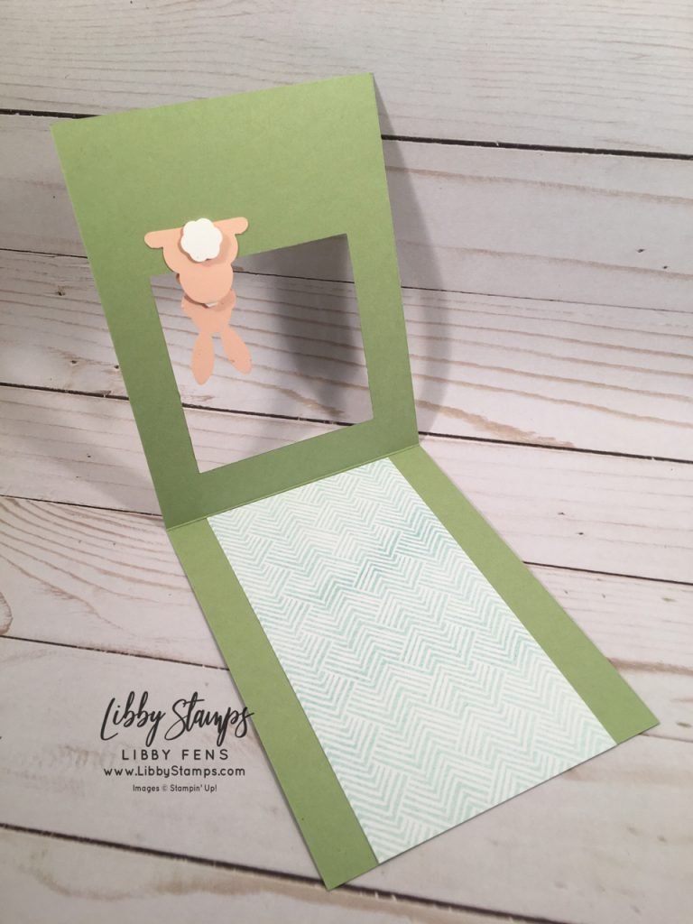 libbystamps, Stampin' Up!, Best Bunny, Layering Squares Framelits, Best Bunny Bundle, Bunny Builder, Painted Seasons DSP, CTS #311