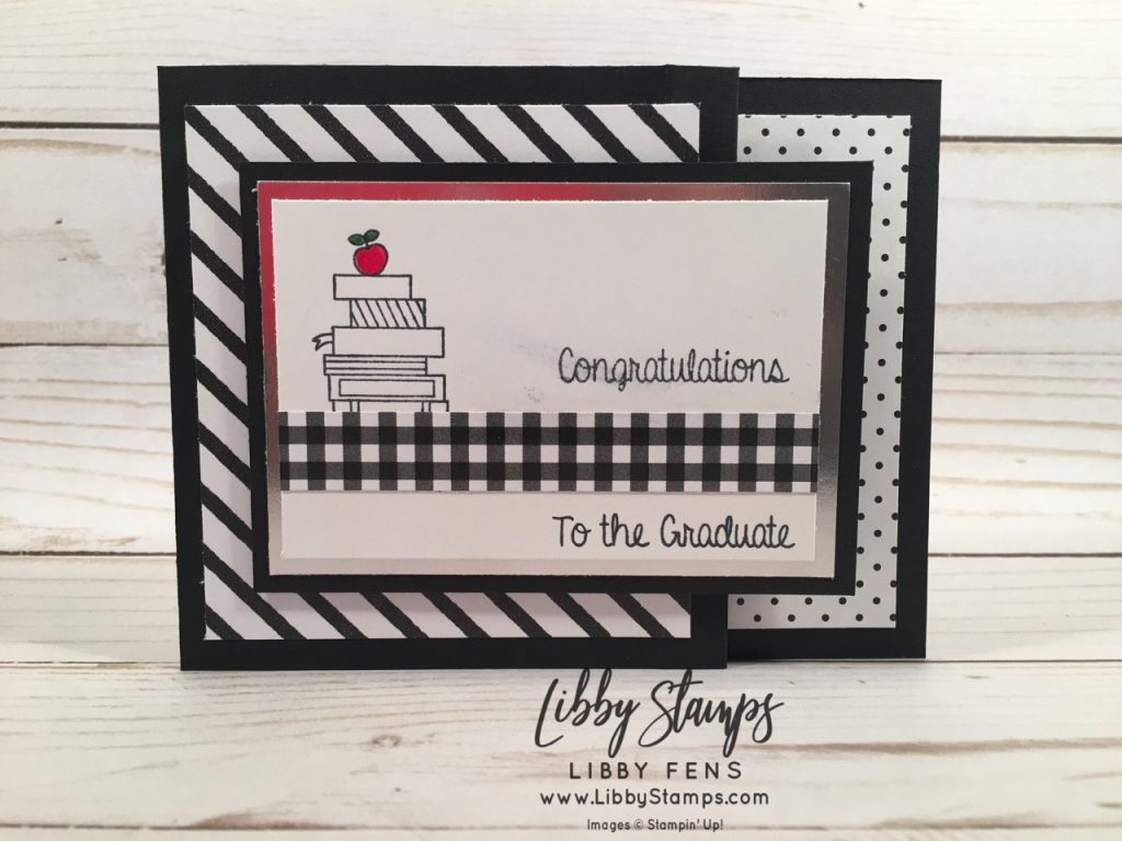 libbystamps, Stampin' Up!, Hand Delivered, Botanical Butterfly DSP, 2019 graduation card, CCMC, Sale-a-bration
