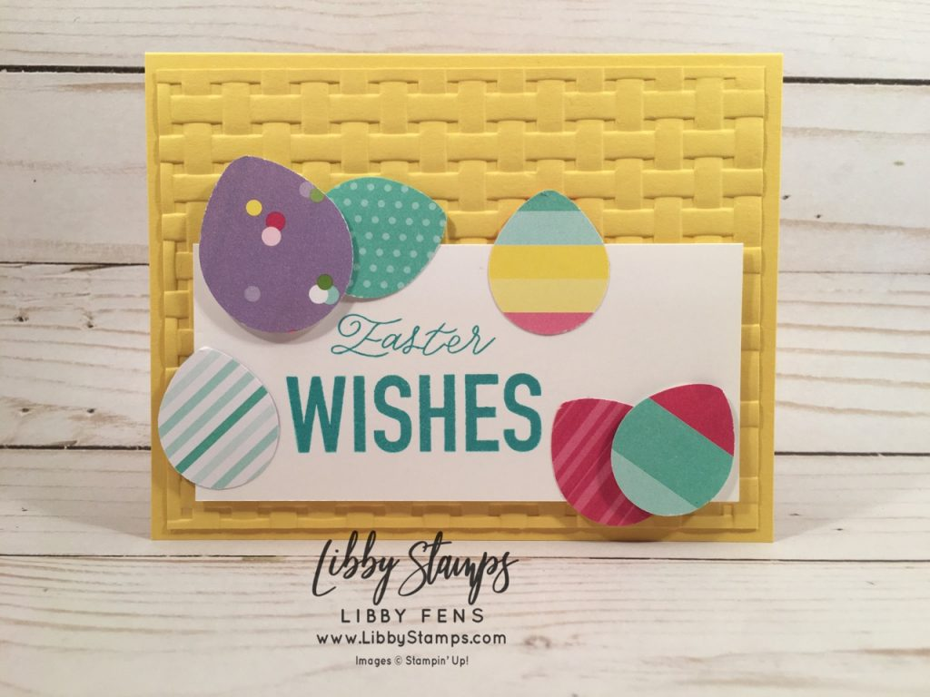 libbystamps, Stampin' Up!, More than Words, How Sweet It Is DSP, Balloon Bouquet Punch, Basket Weave EF, CCMC