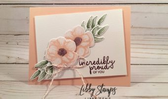 libbystamps, Stampin' Up!, Painted Seasons, Four Seasons Framelits, Silver & Petal Pink Baker's Twine, Sale-a-bration, CCMC