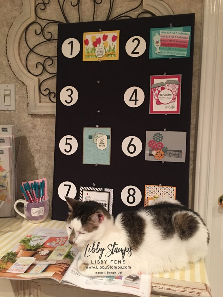 libbystamps, Stampin' Up!, Card Buffet