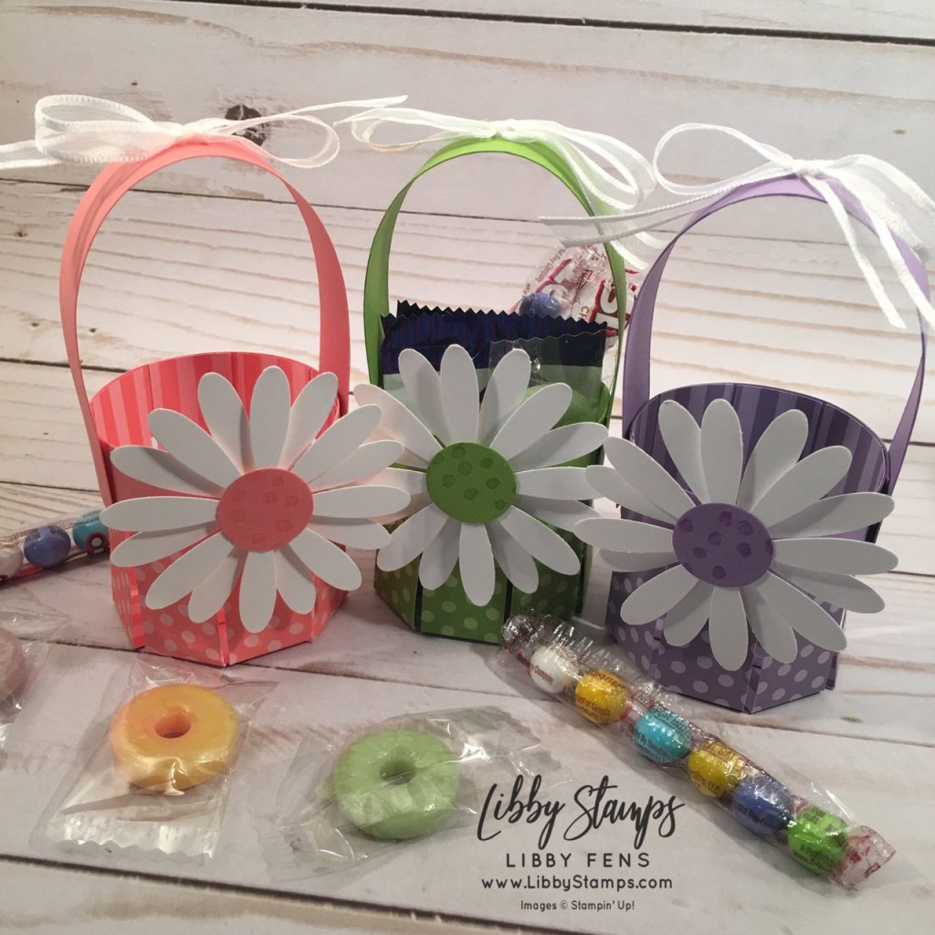 libbystamps, Stampin' Up!, Easter Basket, Petal Palette, Brights 6 x 6 DSP, Subtles 6 x 6 DSP, Daisy Punch, CCMC