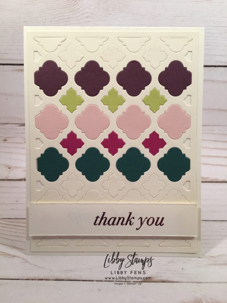 libbystamps, Stampin' Up!, Florentine Filigree, Florentine Filigree Thinlits, Florentine Filigree Bundle, 2017-2019 In Colors, We Create