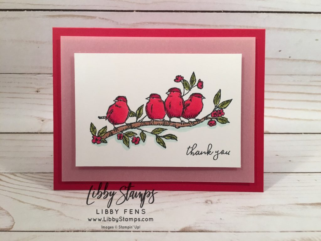 libbystamps, Stampin' Up!, Free as a Bird, Stamparatus, Blends, CCMC