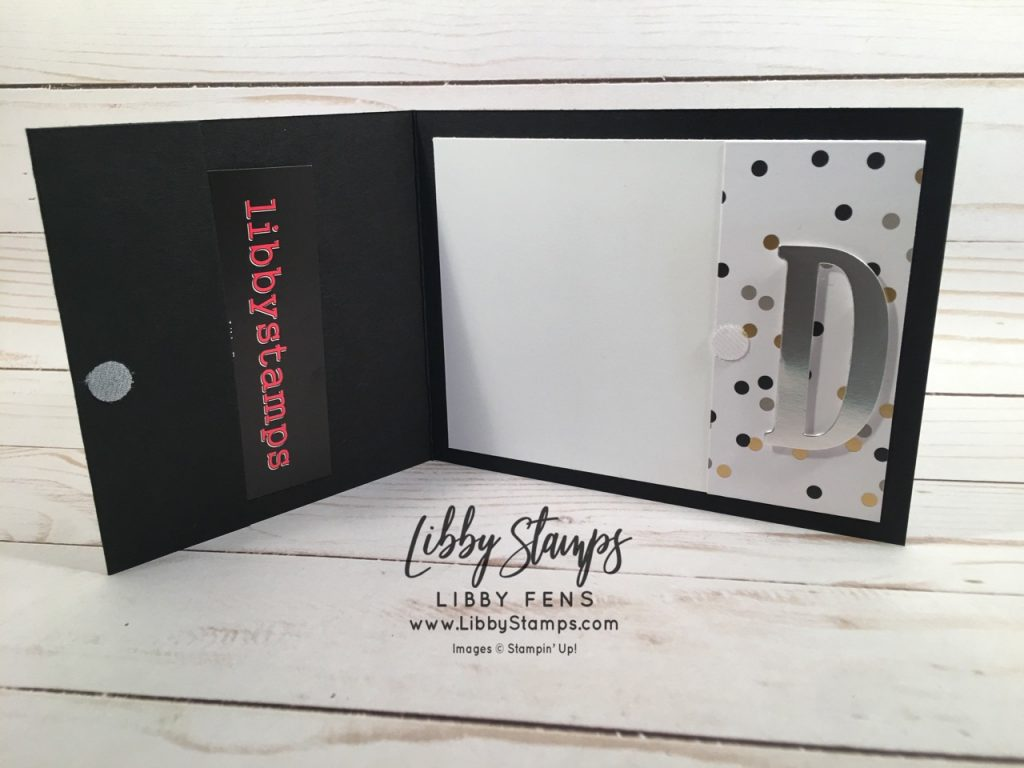 libbystamps, Stampin' Up!, Large Letters Framelits, Broadway Bound DSP, graduation, CCMC