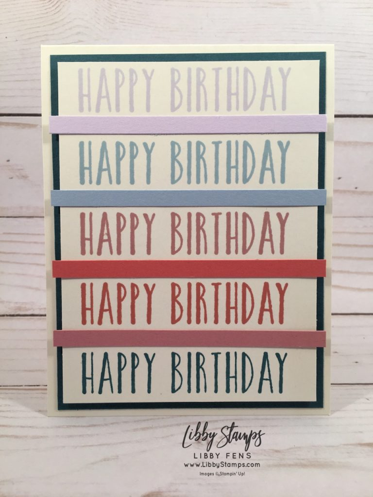 libbystamps, Stampin' Up!, Perennial Birthday, Stamparatus