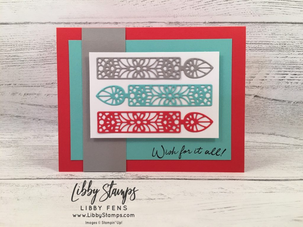 libbystamps, Stampin' Up!, Wish for it All, Wish for It All Bundle, Doily Wishes Dies, PP452