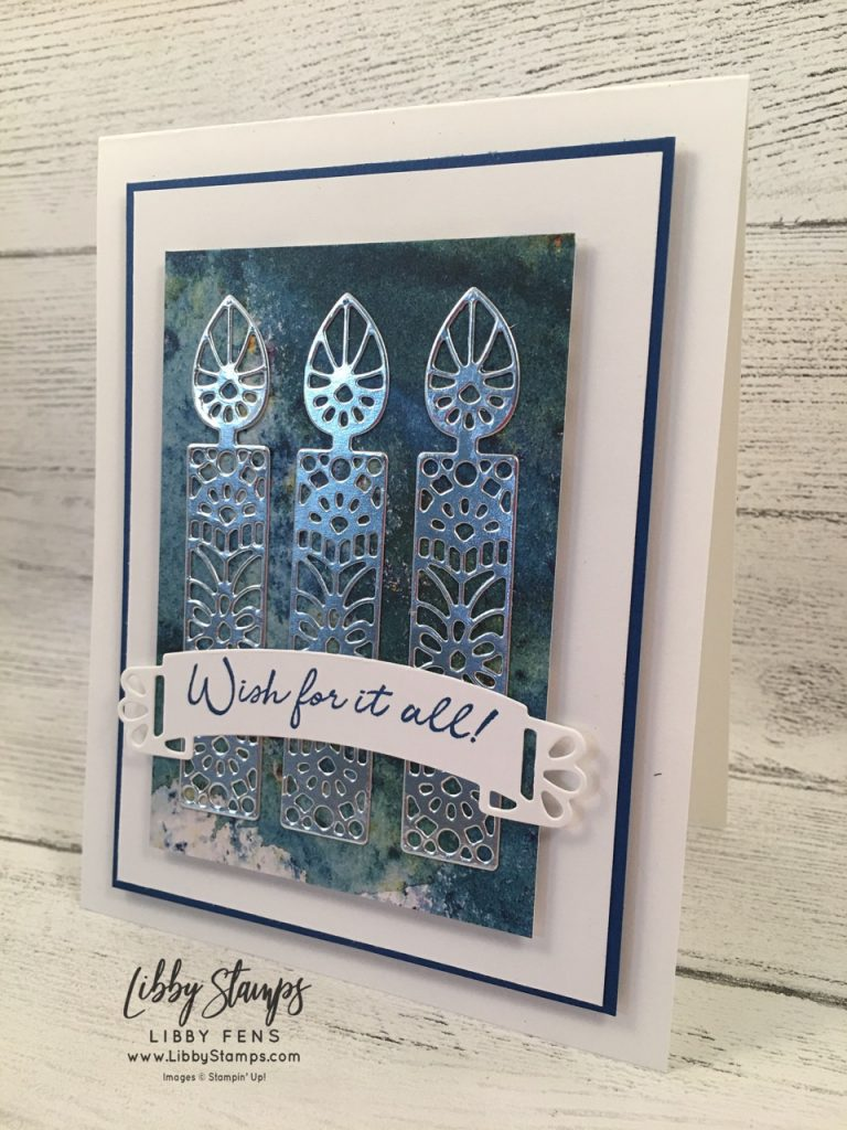 libbystamps, Stampin' Up!, Wish for It All, Wish for It All Bundle, See a Silhouette DSP, Doily Wishes Dies, CCMC
