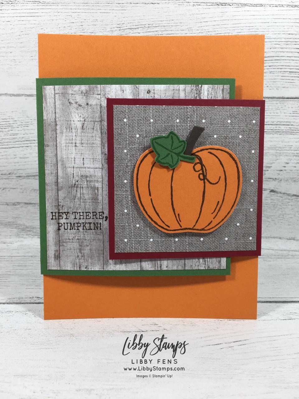 libbystamps, Stampin' Up!, Harvest Hellos, Harvest Hellos Bundle, Joy of Sets Blog Hop