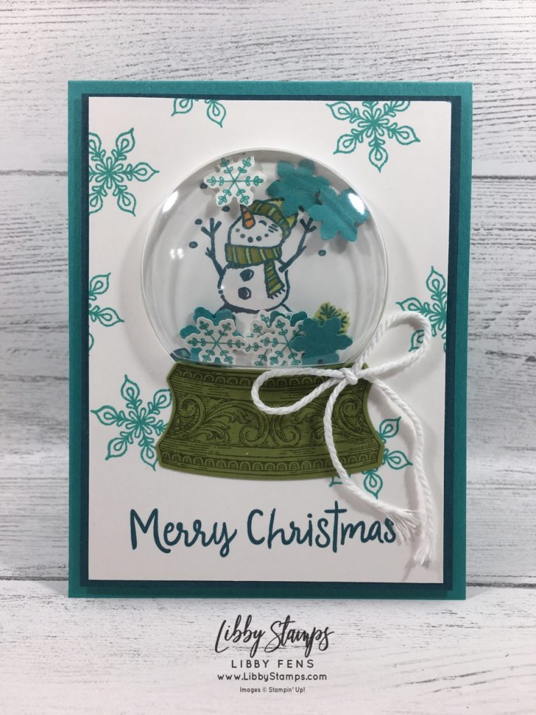libbystamps, Stampin' Up!, Snowman Season, To Every Season, Still Scenes, Snow Globe Scenes Dies, To Every Season Bundle, Still Scenes Bundle, CCMC
