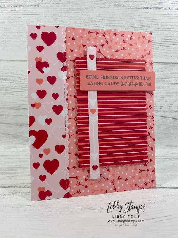 libbystamps, Stampin' Up!, Heartfelt, Stitched Be Mine Dies, Stitched So Sweetly Dies, From My Heart DSP, TSOT 443