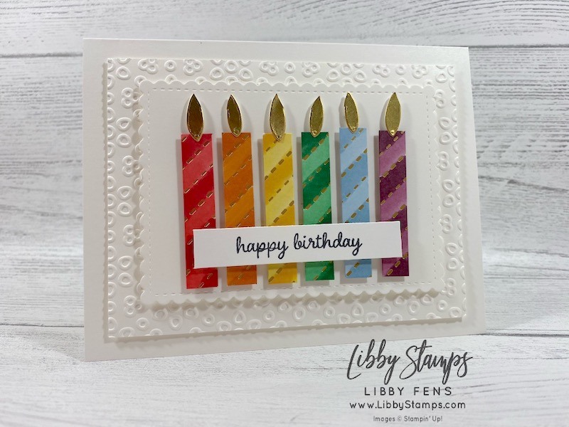 libbystamps, Stampin' Up!, Timeless Tulips, Stitched So Sweetly Dies, Poppy Moments Dies, Golden Honey DSP, Kerchief Card Kit, Sal-a-bration, BFBH, Blogging Friends Blog Hop