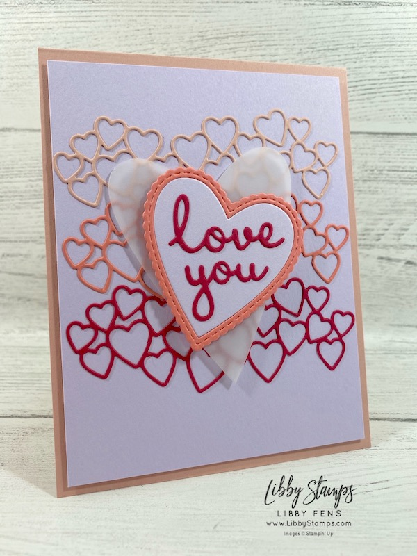 libbystamps, Stampin' Up!, Stitched Be Mine, Well Written Dies