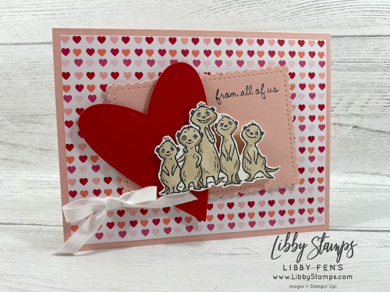 libbystamps, Stampin' Up!, The Gang's All Meer, Stitched So Sweetly Dies, Stitched Be Mine Dies, Stitched So Sweetly Dies, From My Heart DSP, Kre8tors Blog Hop