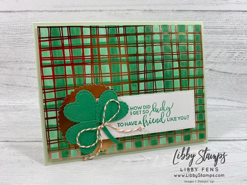 libbystamps, Stampin' Up!, Sale-a-bration, Thanks For The Laughs, Stitched Rectangle Dies, Stitched Be Mine Dies, Flowering Foils Specialty DSP, Starburst Punch, Kre8tors Blog Hop