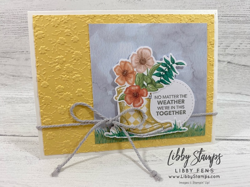 libbystamps, Stampin' Up!, No Matter The Weather, Ornate Floral EF, March 2020 Paper Pumpkin, Paper Pumpkin No Matter The Weather