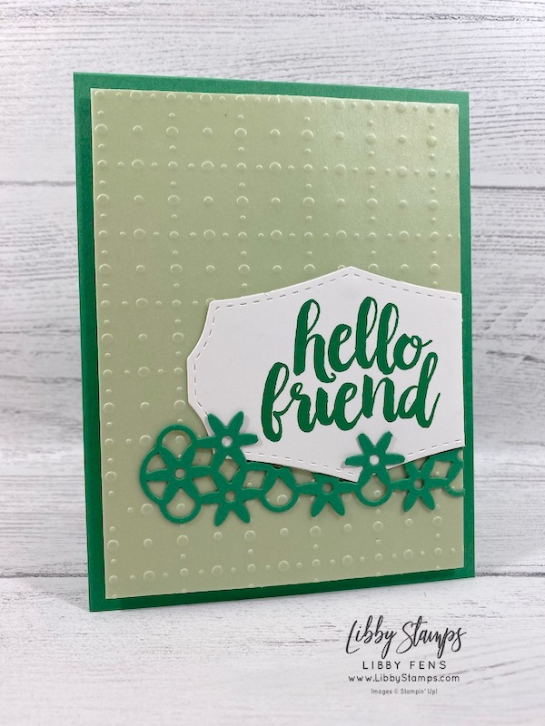 libbystamps, Stampin' Up!, Seriously The Best, Wild Rose Dies, So Very Vellum DSP, FMS248, Sale-a-bration, SAB