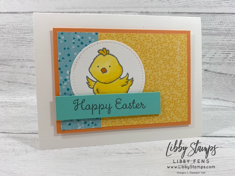 libbystamps, Stampin' Up!, Welcome Easter, Stitched Shapes Dies, Birthday Bonanza DSP, CCMC