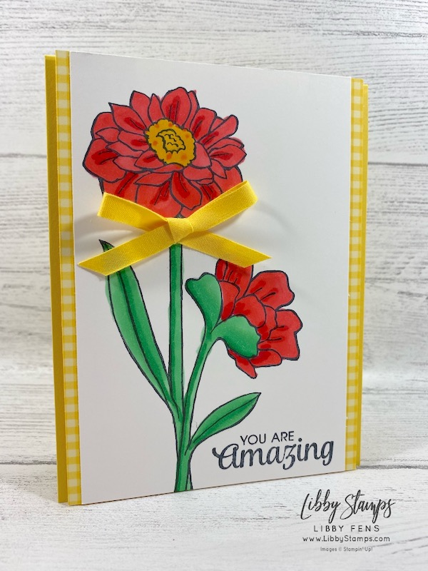 libbystamps, Stampin' Up!, Band Together, Brights 6 x 6 DSP, CCMC, #keepstamping, #simplestamping