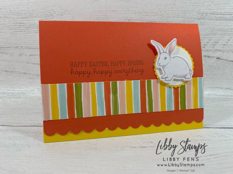 libbystamps, Stampin' Up!, Timeless Tulips, Bird Ballard DSP, Scallop Note Cards & Envelopes, Ink Stamp Share Blog Hop, #keepstamping