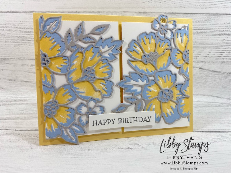 libbystamps, Stampin' Up!, Blossoms In Bloom, Many Layered Blossoms Dies, Blossoms In Bloom Bundle, CCMC, #keepstamping