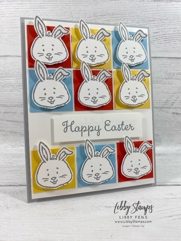 libbystamps, Stampin' Up!, Welcome Easter, #keepstamping, , Kre8tors Blog Hop, Easter card