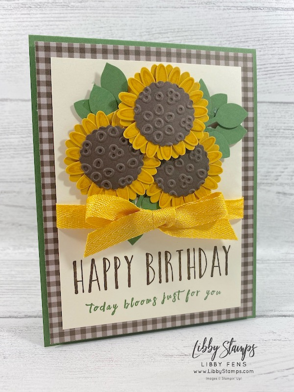 "libbystamps, Stampin' Up!, #keepstamping, Perennial Birthday, Daisy Lane, Eyelet Lace EF, Daisy Lane Bundle, 6 x 6 Neutral Designer Series Paper, Medium Daisy Punch, Leaf Punch, 1 1/8"" Scallop Circle Punch, CCMC"