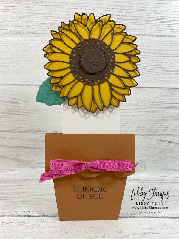"libbystamps, Stampin' Up!, Celebrate Sunflowers, Blossoms In Bloom, Sunflower Dies, Celebrate Sunflowers Bundle, Magenta Madness 2020-2021 In Color 1/4"" Ribbon, 2020-2021 Annual Stampin' Up Catalog, 2020-2022 In Colors, #keepstamping"