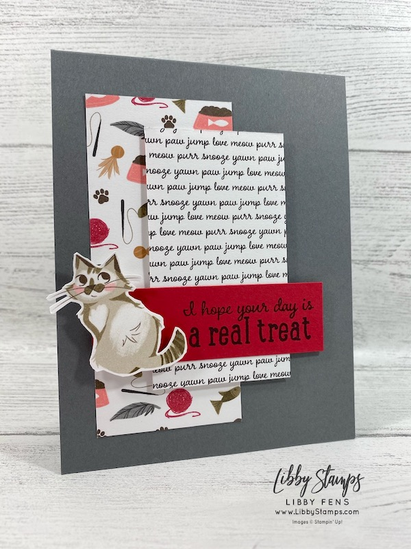 libbystamps, Stampin' Up!, Pampered Pets, Playful Pets DSP, TSOT