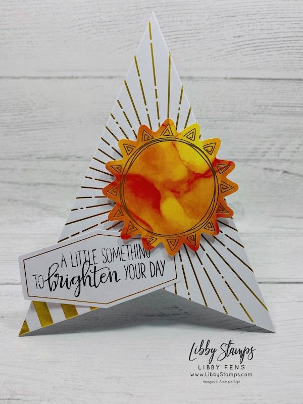 libbystamps, Stampin' Up!, June 2020 Paper Pumpkin Box of Sunshine, #JOSTTT20