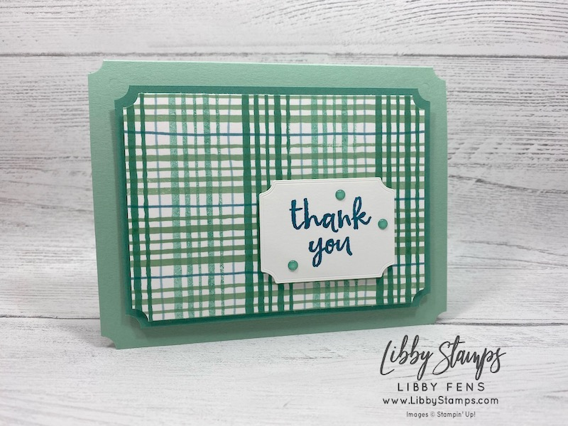 libbystamps, Stampin' Up!, Pattern Play, Massive Thanks, Tasteful Labels Dies, 2020-2022 In Color Enamel Dots, BFBH