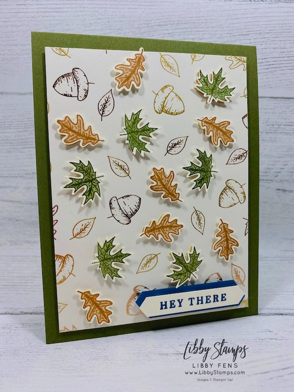 libbystamps, Stampin' Up!, Beautiful Autumn, Beautiful Autumn Bundle, Gilded Autumn Specialty DSP, Autumn Punch Pack, Classic LabelPunch, CCMC
