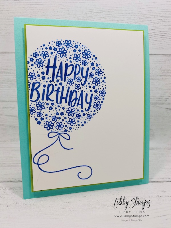libbystamps, Stampin' Up! Hooray to You, Stamparatus, CTS# 385