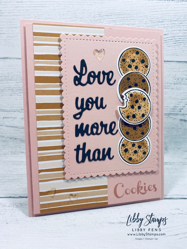 libbystamps, Stampin' Up!, Nothing's Better Than, Love You More Than Dies, Stitched So Sweetly Dies, Nothing's Better Than Bundle, Flowers For Every Season DSP, We Create