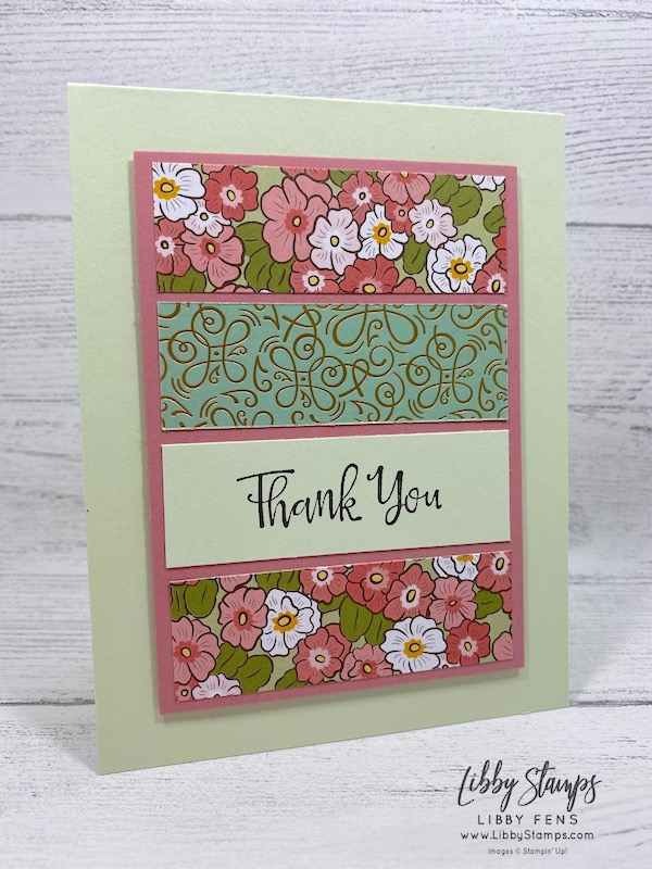 libbystamps, Stampin' Up!, Peaceful Moments, Ornate Garden DSP, Heart Punch Pack, 6 x 6 One Sheet Wonder