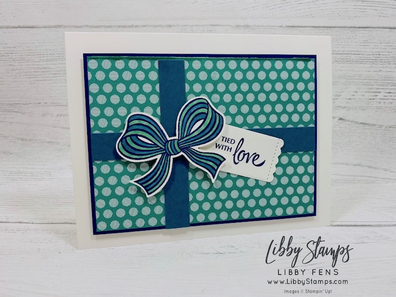 libbystamps, Stampin' Up!, Gift Wrapped, Little Treat Dies, Gift Wrapped Bundle, 2020-2022 In Color 6 x 6 DSP, Gift Bow Builder Punch, CCMC, Create with Connie and Mary