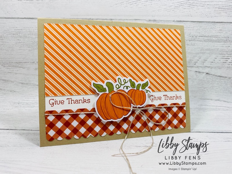 libbystamps, Stampin' Up!, Hello Pumpkin September 2020 Paper Pumpkin, Paper Pumpkin, September 2020
