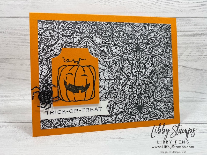 libbystamps, Stampin' Up!, Everything Essential, Banners Pick a Punch, Everything Essential Bundle, Hallows Night Magic, Fab Friday