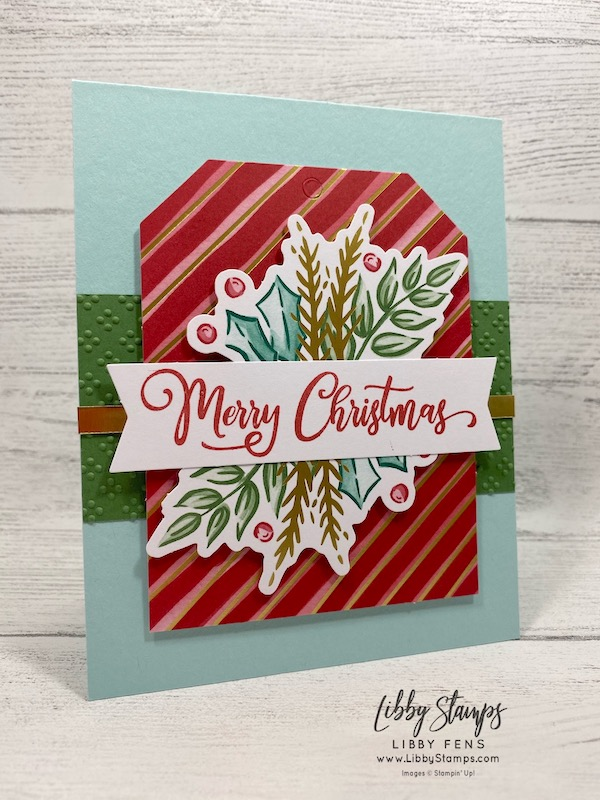libbystamps, Stampin' Up!, Wrapped In Texture EF, Tag Buffet, Tag Buffet Kit, CCMC, Create with Connie and Mary
