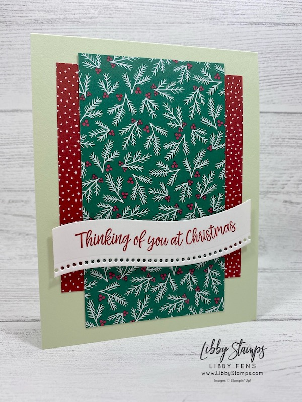 libbystamps, Stampin' Up!, Curvy Christmas, Curvy Dies, Quite Curvy VarietyBundle, Classic Christmas 6 x 6 DSP, Freshly Made Sketches, #FMS457