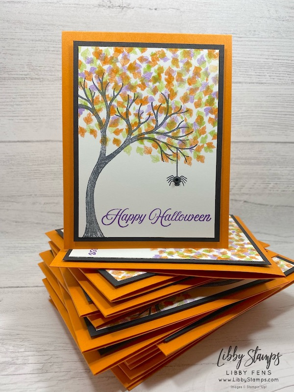 libbystamps, Stampin' Up!, Life Is Beautiful, Hallows Night Magic, Festive Corners, Stamparatus