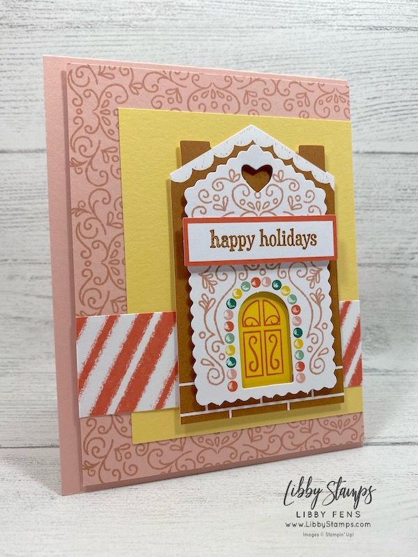 libbystamps, Stampin' Up!, November 2020 Paper Pumpkin Kit Jolly Gingerbread, Paper Pumpkin, #CTS 399 , Case This Sketch
