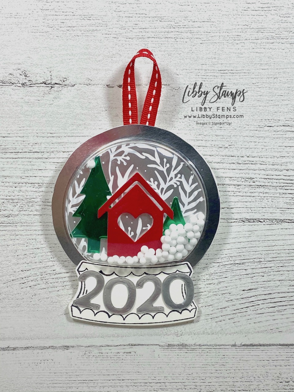 libbystamps, Stampin' Up!, Zoo Globe, Snow Globe Scenes Dies, Playful Alphabet Dies, Home Together Dies, Feels Like Frost DSP, Snow Globe Shaker Domes, Playful Pets Trim Combo, Ink Stamp Share Blog Hop