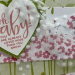 libbystamps, Stampin' Up!, Punch Party, Stitched With Whimsy Dies, Heart Punch Pack, Whisper White 5/8 Polka Dot Tulle Ribbon, Sale-A-Bration, SAB, Saleabration 2021, Creative Stampers